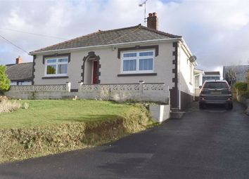 Thumbnail 3 bed detached bungalow for sale in Llanllwni, Llanybydder