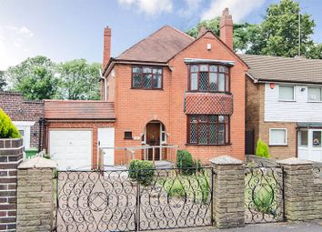 Thumbnail 3 bed detached house for sale in Bentley Drive, Walsall