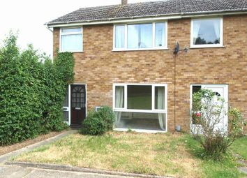 Thumbnail 3 bedroom end terrace house to rent in Camborne Close, New Costessey, Norwich