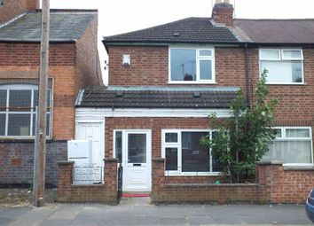 Thumbnail 1 bed flat to rent in Prestwold Road, Leicester
