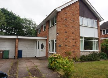 Thumbnail 4 bedroom detached house to rent in Belvedere Close, Stafford