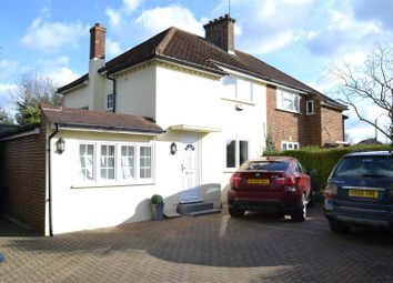 Thumbnail 3 bedroom semi-detached house for sale in Hogsmill Way, Ewell, Epsom