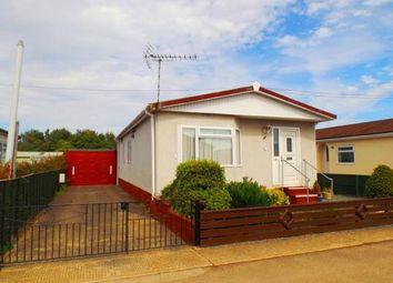 Thumbnail 2 bedroom mobile/park home for sale in Beverley Court, Pioneer Park, Eye, Peterborough