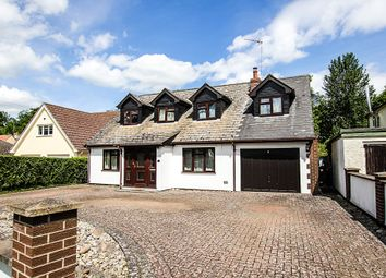 Thumbnail 5 bedroom detached house for sale in Newmarket Road, Cheveley