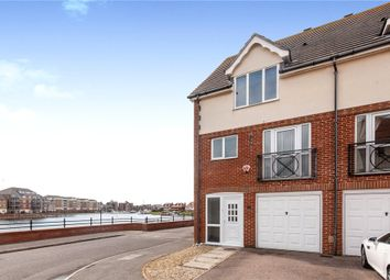Thumbnail 4 bedroom semi-detached house for sale in Hobart Quay, Eastbourne, East Sussex
