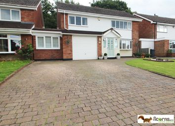 Thumbnail 4 bed detached house for sale in Raven Road, Walsall