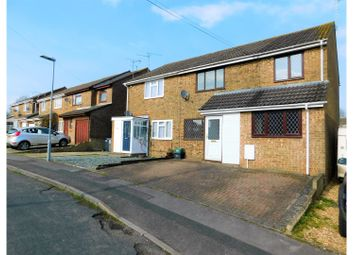 Thumbnail 4 bed semi-detached house for sale in Coleridge Close, Royal Wootton Bassett