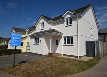 Thumbnail 4 bed detached house for sale in Trelinnoe Gardens, South Petherwin, Launceston