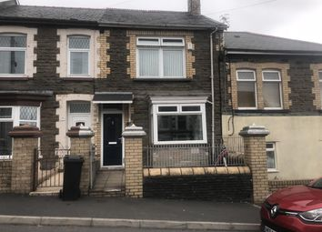 Thumbnail 2 bed terraced house to rent in Treharne Road, Edwardsville, Treharris