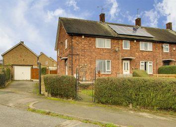 Thumbnail 3 bed end terrace house for sale in Bembridge Drive, Bestwood, Nottinghamshire