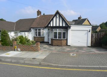 Thumbnail 2 bed semi-detached house to rent in The Meadway, Chelsfield, Orpington