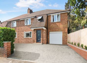Thumbnail 4 bed semi-detached house for sale in Byfleet, Surrey