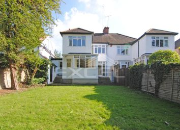 Thumbnail 4 bedroom flat to rent in Lyndhurst Gardens, Finchley Central, London