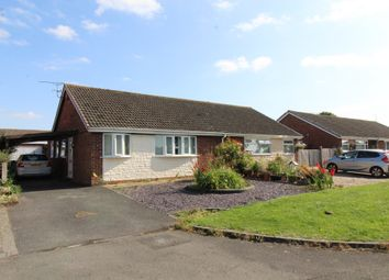 Thumbnail 3 bed semi-detached bungalow for sale in Heronscroft, Swindon