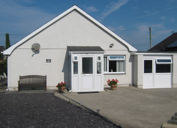 Thumbnail 3 bed bungalow for sale in Garth Estate, Pontllyfni, Caernarfon