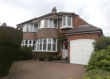 Thumbnail 3 bed semi-detached house for sale in Willmott Road, Sutton Coldfield