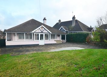 Thumbnail 3 bed detached bungalow for sale in Chislehurst Road, Orpington, Kent