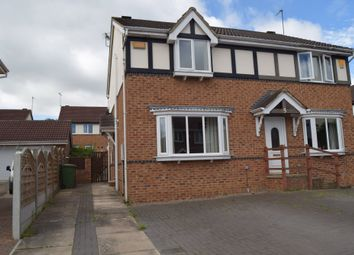 Thumbnail 3 bed semi-detached house to rent in Chesterton Court, Horbury