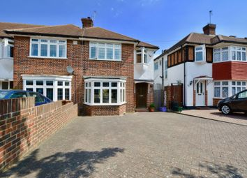 Thumbnail 3 bed semi-detached house for sale in Cardinal Avenue, Morden