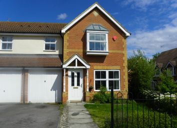 Thumbnail 3 bedroom semi-detached house to rent in Bushell Way, Arborfield, Reading