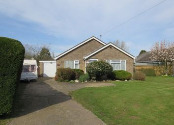 Thumbnail 3 bedroom detached bungalow for sale in Chapel Lane, Tattershall Thorpe, Lincoln
