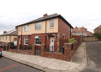 Thumbnail 3 bedroom semi-detached house for sale in Bishops Road, Benwell, Newcastle Upon Tyne