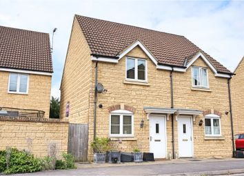 Thumbnail 2 bed semi-detached house for sale in Loiret Crescent, Malmesbury