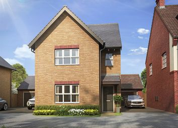 "Thumbnail 3 bed detached house for sale in ""The Hatfield "" at Snellsdale Road, Newton, Rugby"