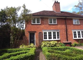 Thumbnail 2 bed semi-detached house to rent in Homestead Cottages, London Road, Windlesham, Surrey
