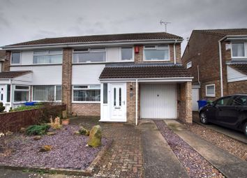 Thumbnail 4 bed semi-detached house for sale in Aylesford Square, South Beach Estate, Blyth
