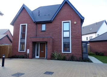 Thumbnail 4 bed detached house for sale in Wymondham Close, Monksmoor, Daventry
