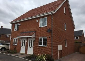 Thumbnail 3 bed semi-detached house for sale in Shotesham Road, Poringland, Norwich