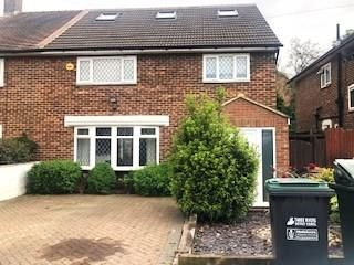 Thumbnail 4 bed semi-detached house for sale in Northwick Road WD19,