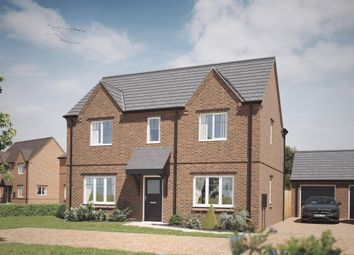 Thumbnail 4 bedroom detached house for sale in Acresford Road, Overseal, Swadlincote