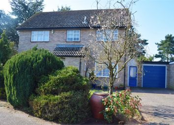 Thumbnail 4 bedroom detached house for sale in Nunnery Drive, Thetford, Norfolk