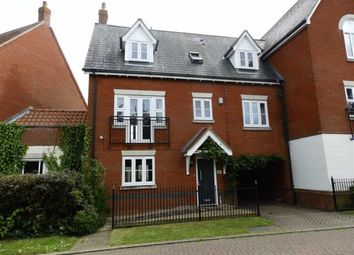 Thumbnail 4 bed town house for sale in Martinet Green, Ipswich, Suffolk