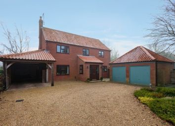 Thumbnail 4 bed detached house for sale in Fakenham Road, East Rudham, King's Lynn