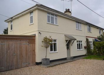 Thumbnail 3 bed semi-detached house to rent in Church Road, Colaton Raleigh, Sidmouth, Devon