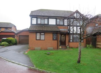Thumbnail 4 bed detached house for sale in Broome Close, Axminster