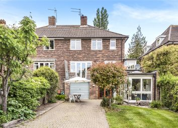 Thumbnail 4 bed semi-detached house for sale in Kingsgate Road, Winchester, Hampshire