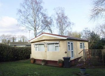 Thumbnail 2 bed mobile/park home for sale in Pigeon Pass, Turners Hill, West Sussex