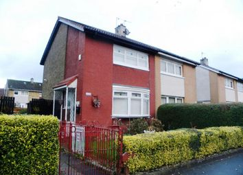Thumbnail 2 bed semi-detached house for sale in Carntyne Road, Glasgow