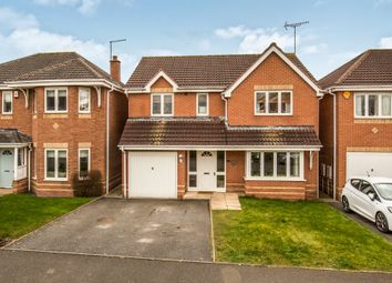 Thumbnail 4 bed detached house to rent in Old Station Close, Etwall, Derby