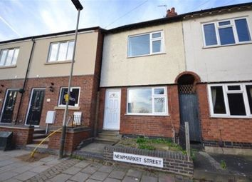 Thumbnail 2 bedroom terraced house to rent in Newmarket Street, Knighton, Leicester