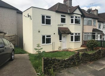 Thumbnail 4 bed end terrace house to rent in Gatling Road, Abbey Wood, London