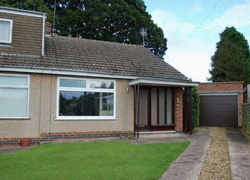 Thumbnail 2 bed semi-detached bungalow to rent in Arnsby Crescent, Moulton, Northampton
