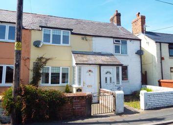 Thumbnail 2 bed terraced house for sale in Lloyds Terrace, Ffordd Top Y Rhos, Treuddyn, Flintshire