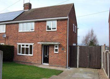 Thumbnail 3 bed semi-detached house to rent in Queen Elizabeth Way, Kirk Hallam, Ilkeston, Derbyshire