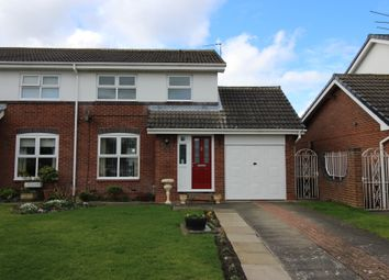 Thumbnail 3 bed semi-detached house for sale in North Grange, Ponteland