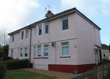 Thumbnail 1 bed flat for sale in Lochfield Road, Paisley